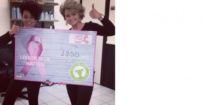 Ladies Cancerday groot succes!