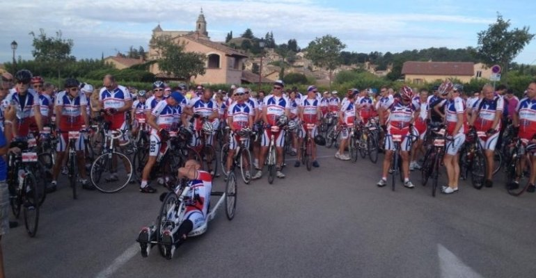Toppers beklimming Mont Ventoux voor o.a. Haarwensen